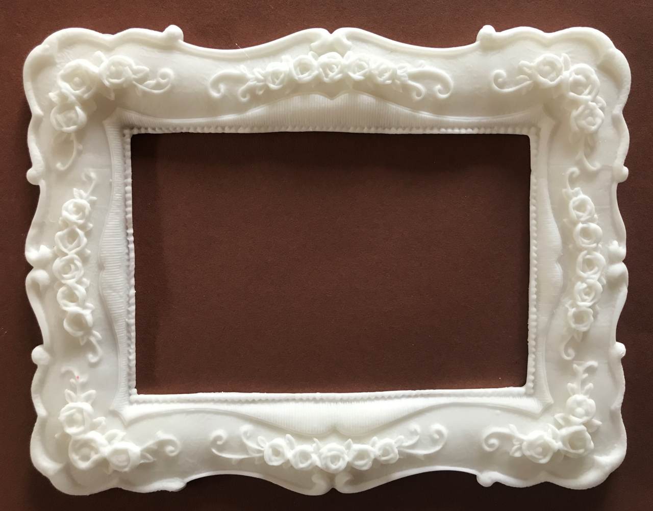Bilderrahmen mit Rosen 19 cm x 15 cm ( Blanko) - Sanny\'s essbare ...