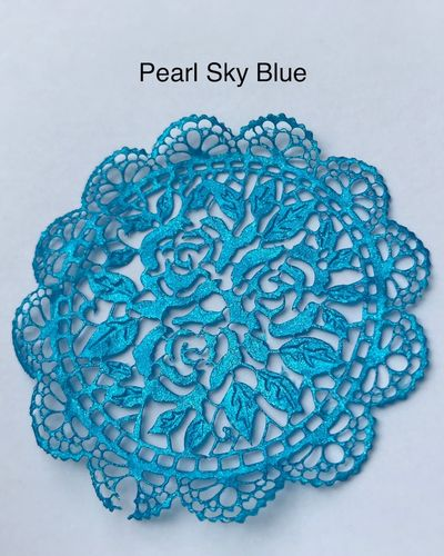 Pearlised Sky Blue ( Pro Spitze )