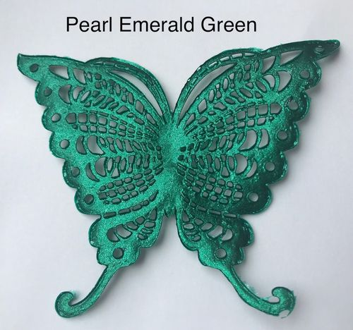 Pearlised Emerald Green ( Pro Spitze )